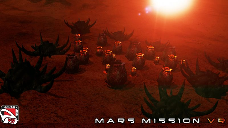 mars mission vr egg pods
