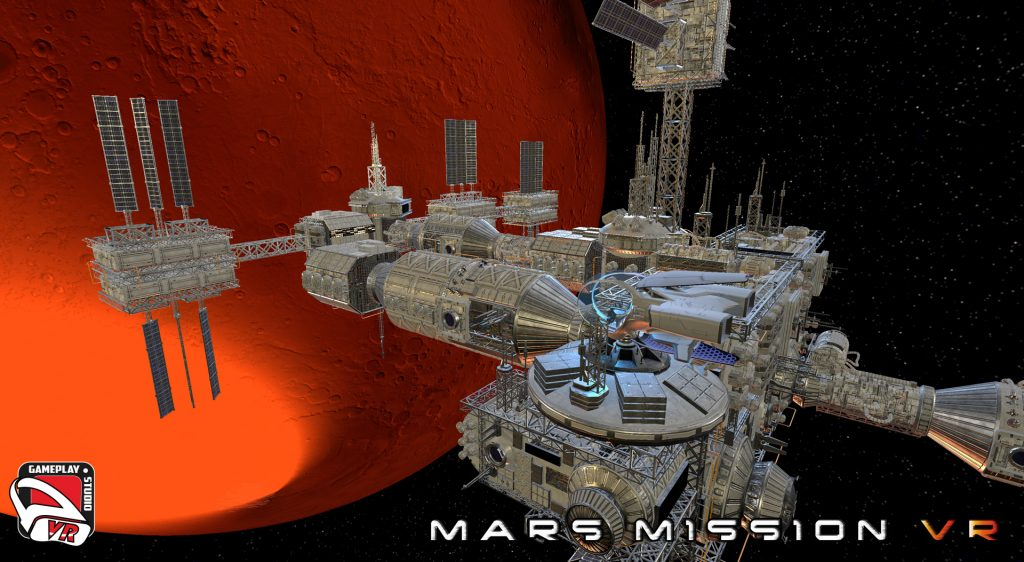 Mars Mission VR Space Station Gravity