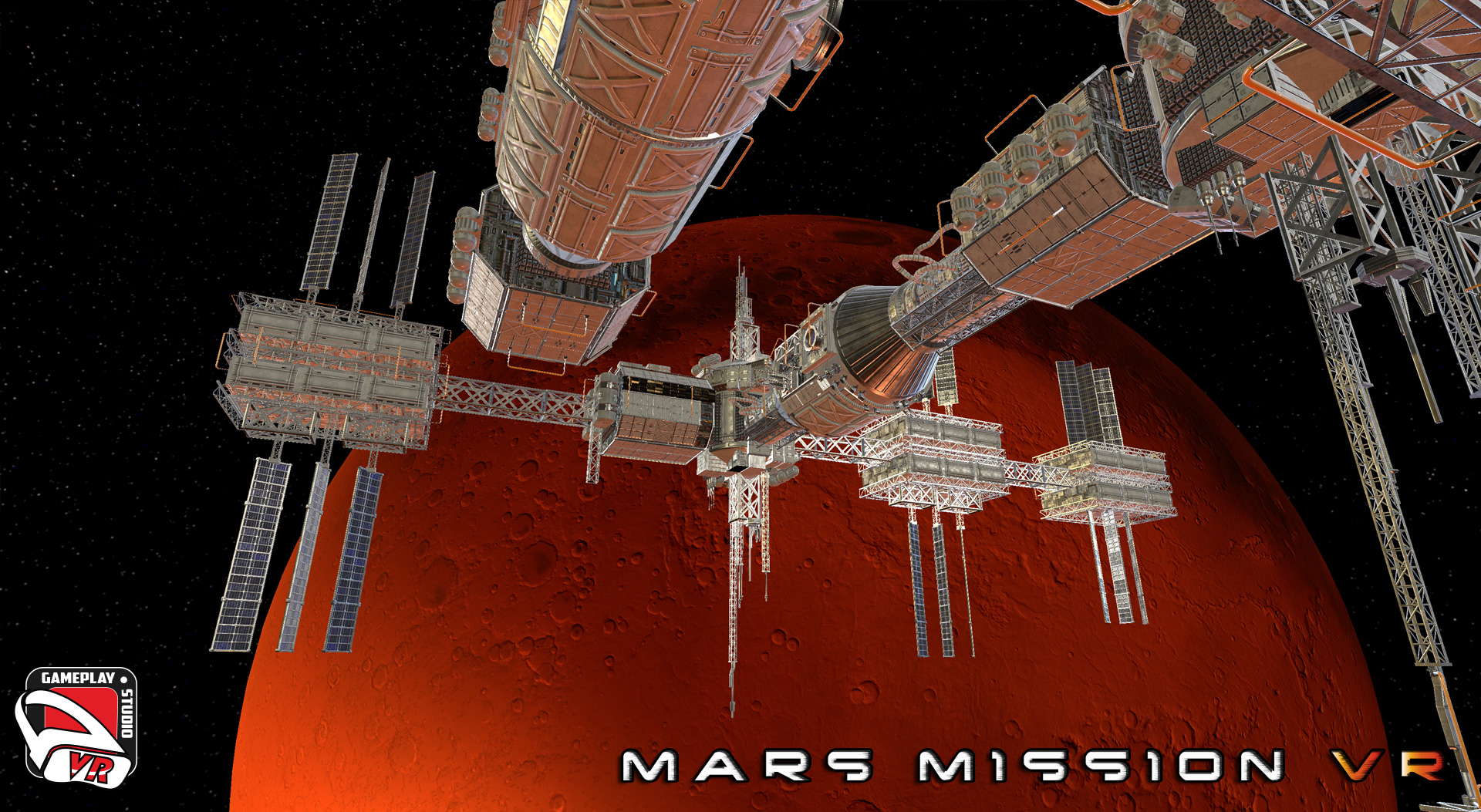 mars mission vr - space station