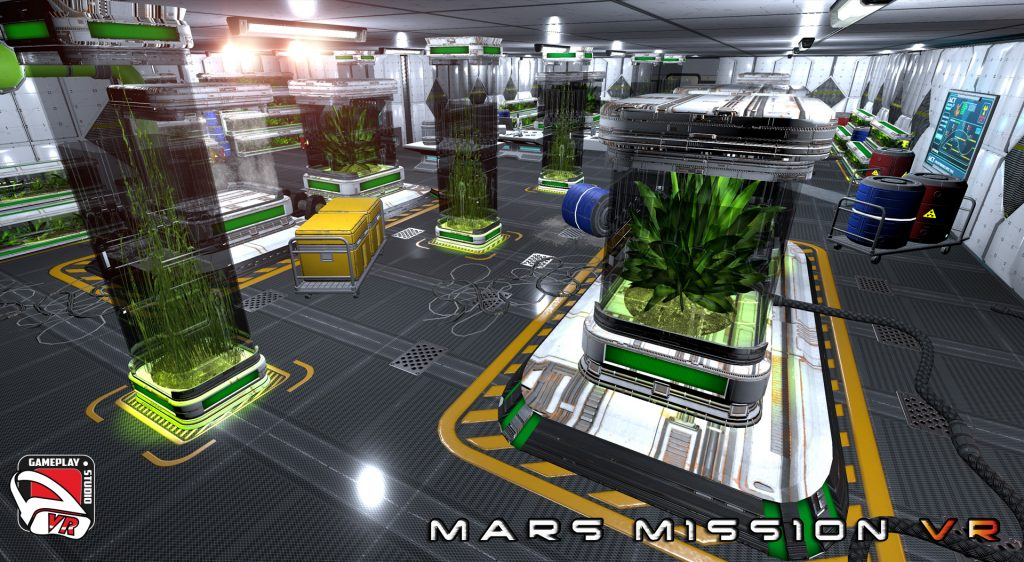 the green lab mars mission vr