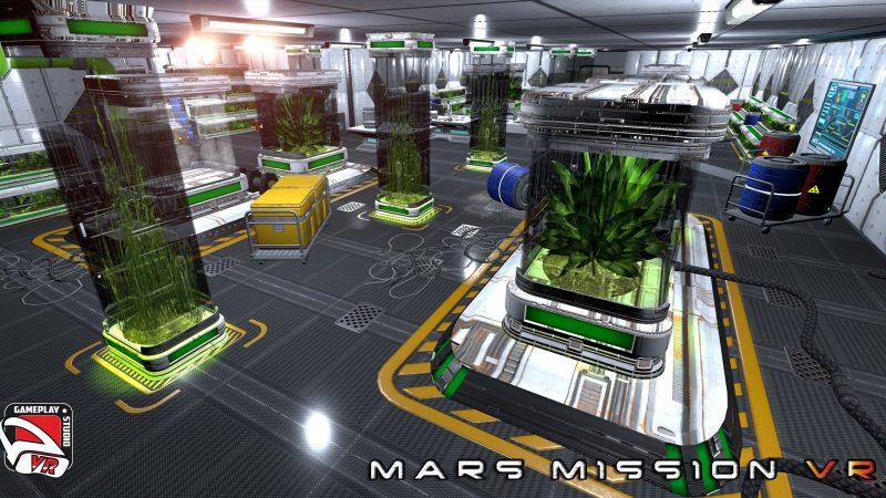 the green lab mars mission vr