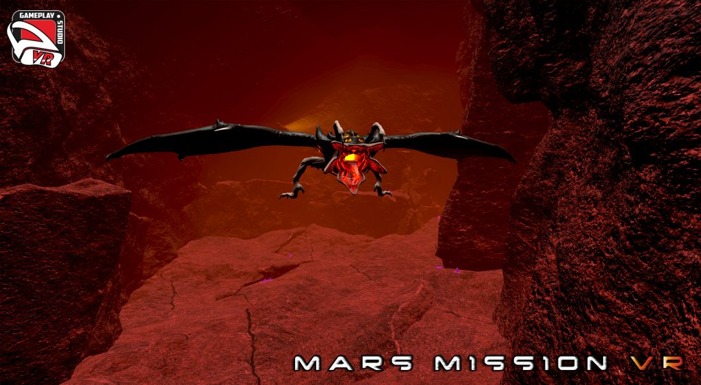 Mars Mission VR caves