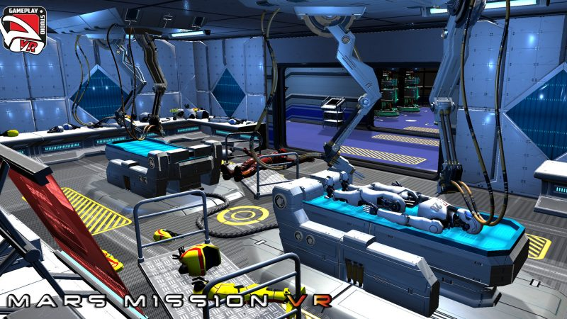 robot repair mars mission vr