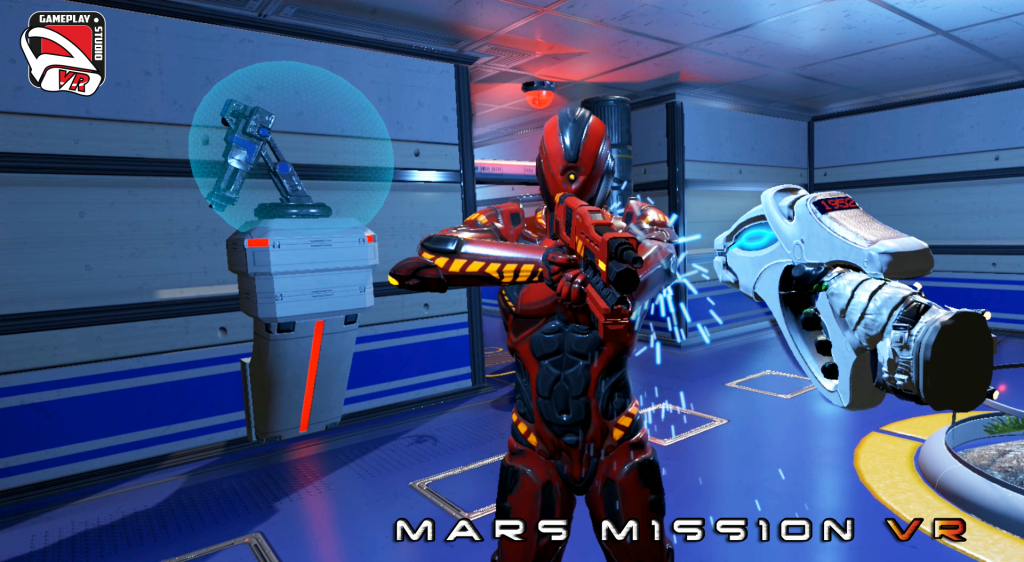 mars mission vr gameplaystudio vr cyclop robot