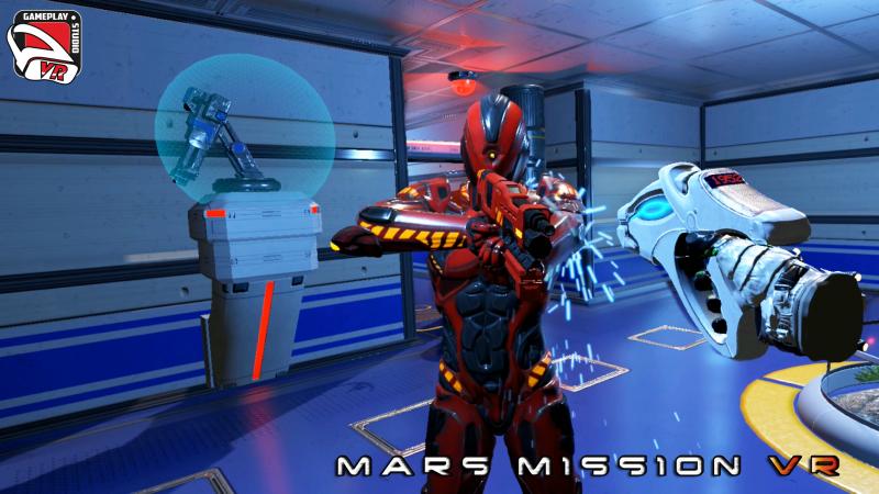 mars mission vr gameplaystudio vr cyclop robot