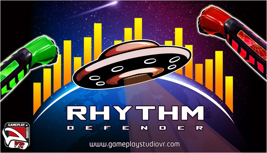 rhythm defender new vr rhythm game by gameplaystudiovr