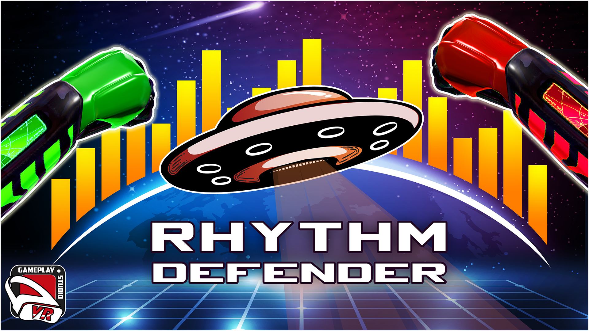 Rhythm Defender Mixed Reality Trailer