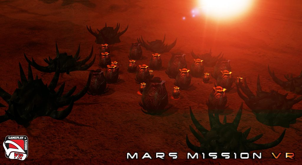 mars mission vr egg pods