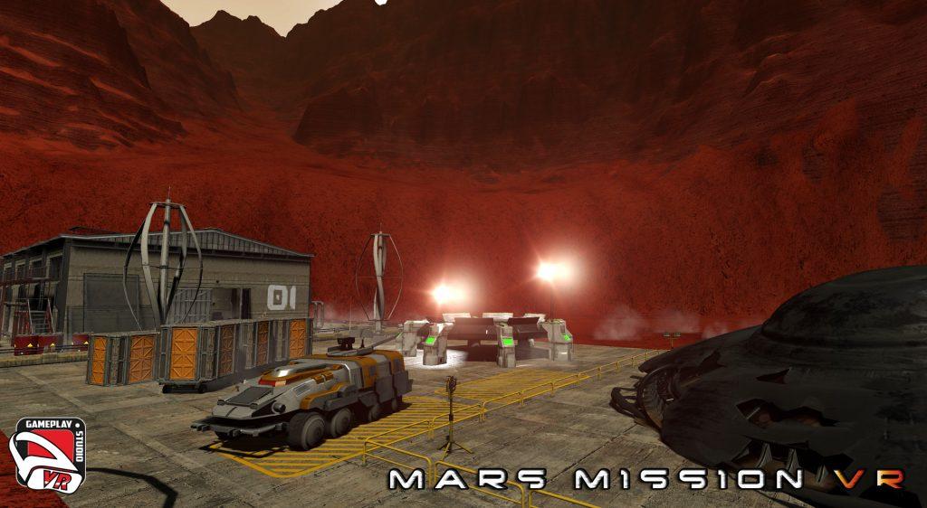mars mission vr area 10