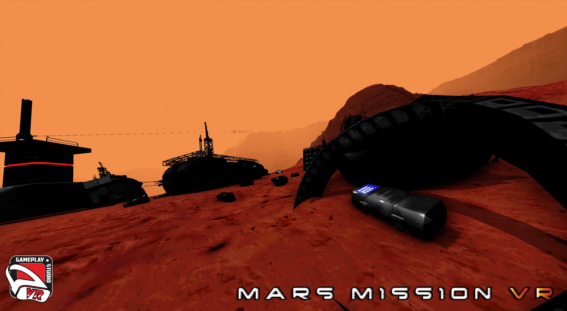 mars mission vr area 4