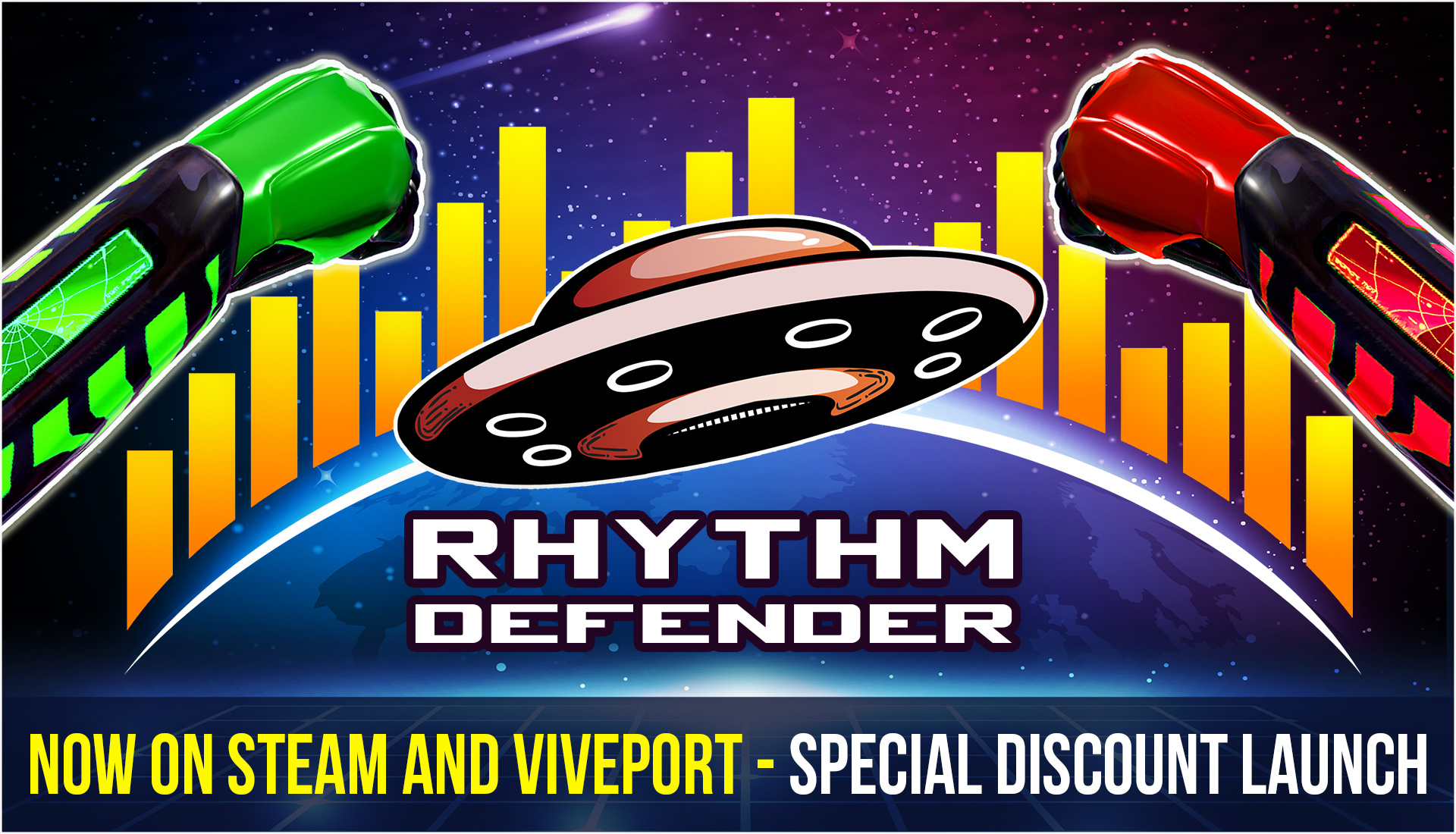 rhythm defender is out